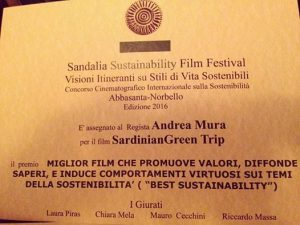 foto premio SGT Sandalia